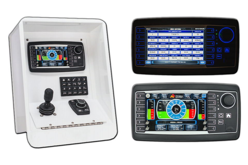 Commander control system for ProALL Reimer Mixers
