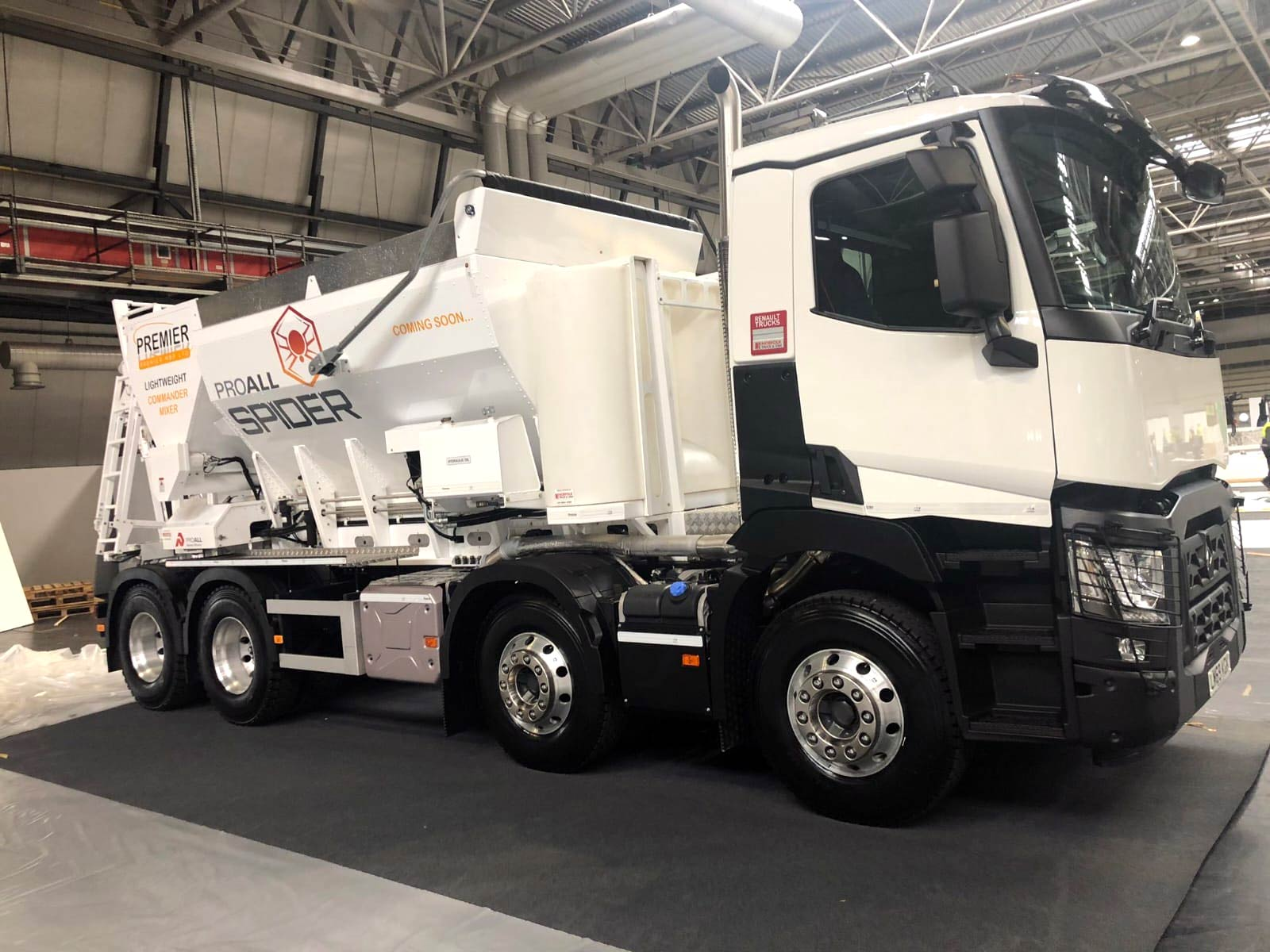 New Volumetric Lightweight Truck for sale by Premier MBP